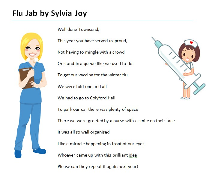 Sylvia Joy - Flu Jab